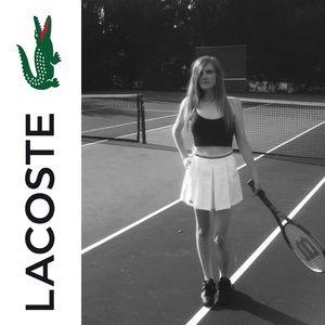 VTG Lacoste Pleated Tennis Skirt
